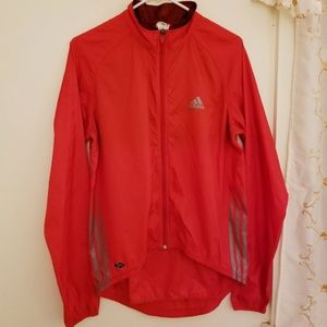 Retro Adidas Full zip ClimaLite windbreaker